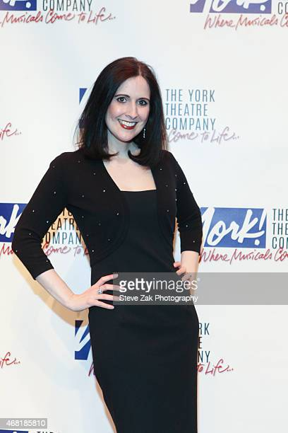 Stephanie d'Abruzzo attends The 100 Musicals In Mufti Benefit Concert Arrivals at The York Theatre on March 30 2015 in New York City