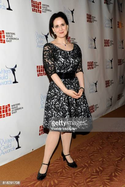Stephanie D'Abruzzo attends THE 62 ANNUAL WRITERS GUILD AWARDS at Hudson Theatre on February 20 2010 in New York City