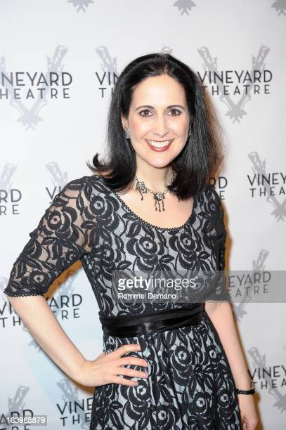 Stephanie D'Abruzzo attends the Vineyard Theatre 30th Anniversary gala at The Edison Ballroom on March 18 2013 in New York City
