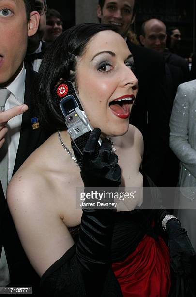 Stephanie D'Abruzzo during 58th Annual Tony Awards Sprint at the Red Carpet at Radio City Music Hall in New York City New York United States