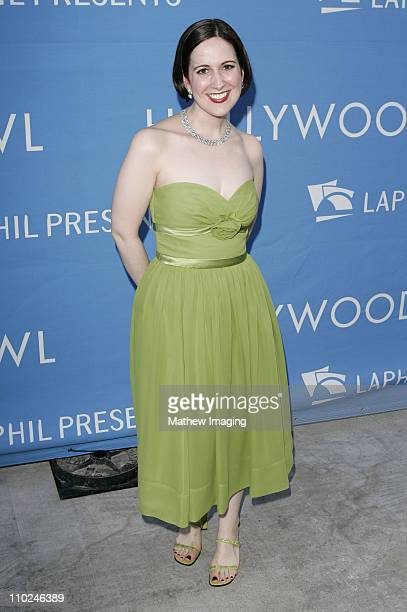 Stephanie D'Abruzzo during The Hollywood Bowl Celebrates Stephen Sondheim's 75th Birthday Arrivals at Hollywood Bowl in Hollywood California United...
