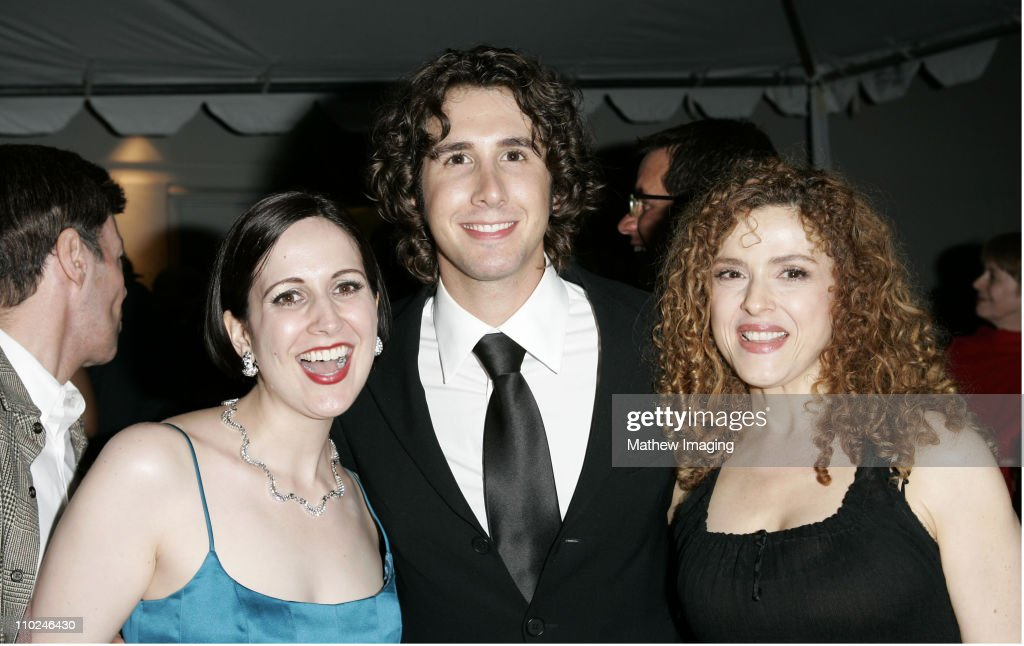 Stephanie D'Abruzzo, Josh Groban and Bernadette Peters **exclusive**