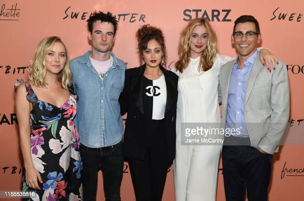 Stephanie Danler Tom Sturridge Ella Purnell Caitlin Fitzgerald and Stu Zicherman attend the Sweetbitter Season Two NY premiere on June 12 2019 at The...
