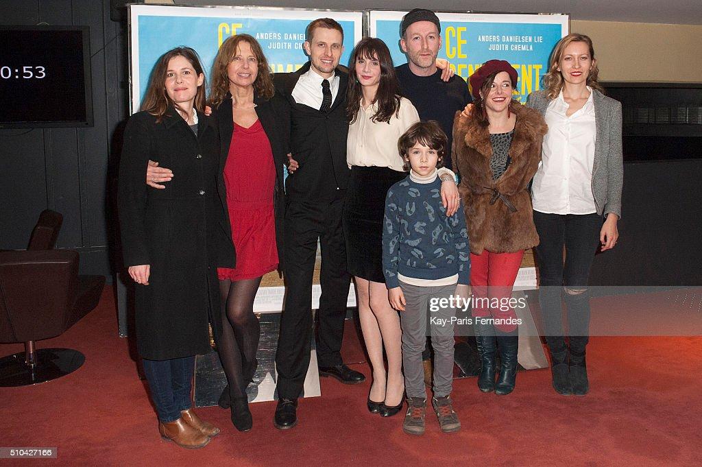 """""""Le Sentiment De L'Ete"""" Paris Premiere At Cinema UGC Les Halles"""