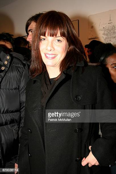 Stephanie Dodds attends PAPERCUT Inaugural Exhibition to Celebrate the Print Making Process at Heist Gallery on December 13 2008 in New York City