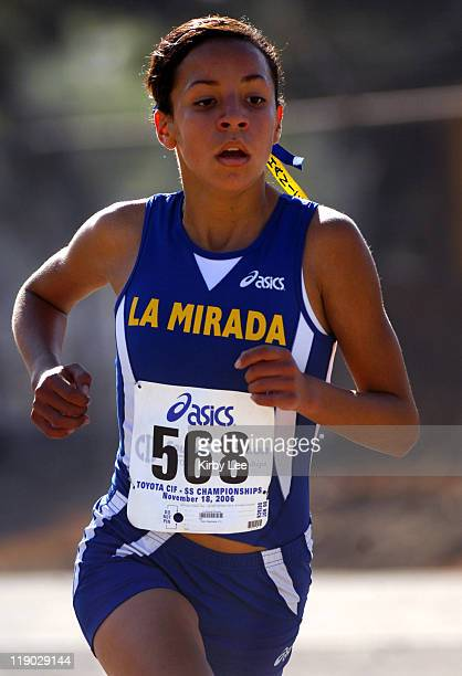 Stephanie Felix of La Mirada placed fourth in the girls' Division IV race in 1739 over the 291mile course to become the first athlete in school...