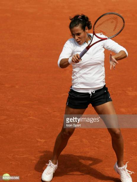 Stephanie FORETZ Roland Garros 2006 2eme journee Tennis
