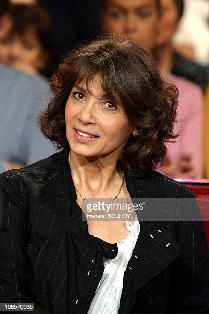 Stephanie Fugain in Paris France on February 02nd2005