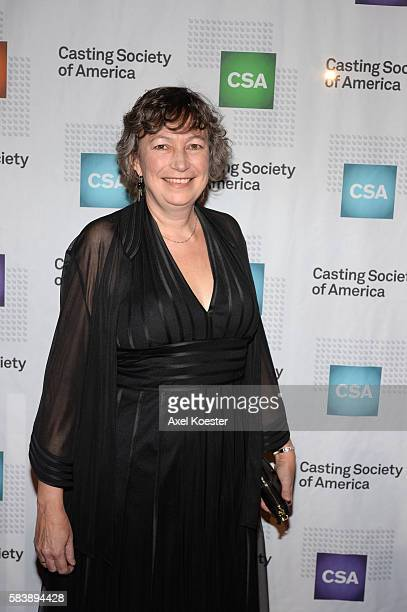 Stephanie Gorin arrives to The Casting Society of America's 30th Annual Artios Awards Banquet at the Beverly Hilton Hotel Thursday evening