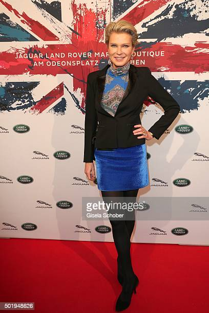 Stephanie Graefin Bruges von Pfuel during the opening of the Jaguar Land Rover Boutique on December 18 2015 in Munich Germany