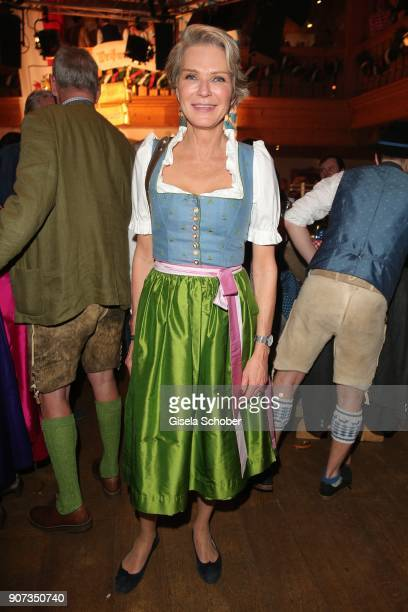 Stephanie Graefin von Pfuel during the 27th Weisswurstparty at Hotel Stanglwirt on January 19 2018 in Going near Kitzbuehel Austria
