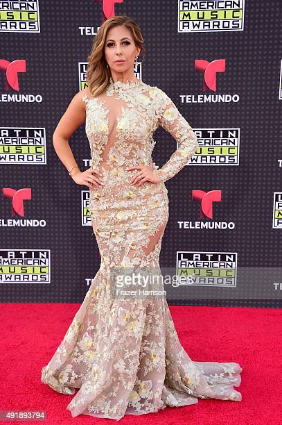 Stephanie Himonidis attends Telemundo's Latin American Music Awards at the Dolby Theatre on October 8 2015 in Hollywood California