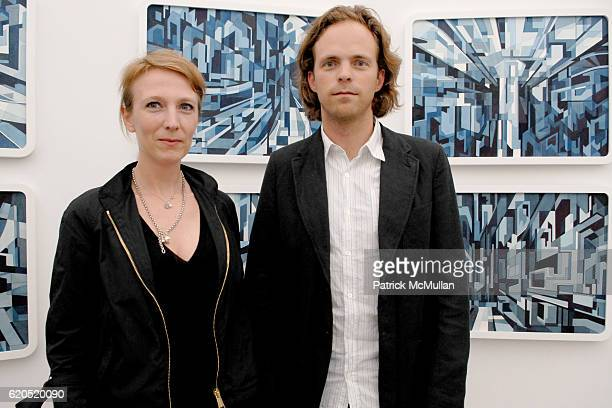 Stephanie Hin and Florian MaierAichen attend 303 Gallery Opening Reception NEW WORKS by DOUG AITKEN at 547 W 21 Street on September 20 2008 in New...