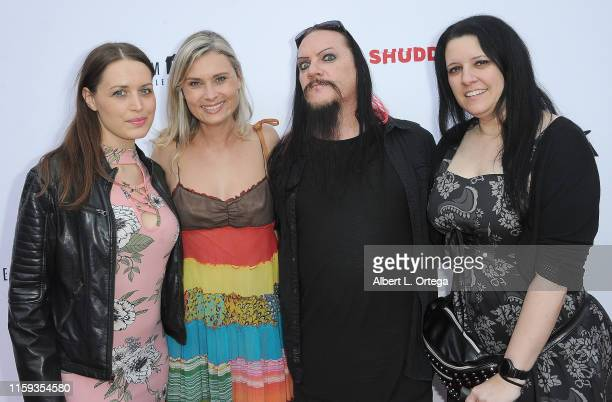 Stephanie Hyden Kristina Klebe Spooky Dan Walker and Tammy Sutton attend the 6th Annual Etheria Film Showcase held at American Cinematheque's...