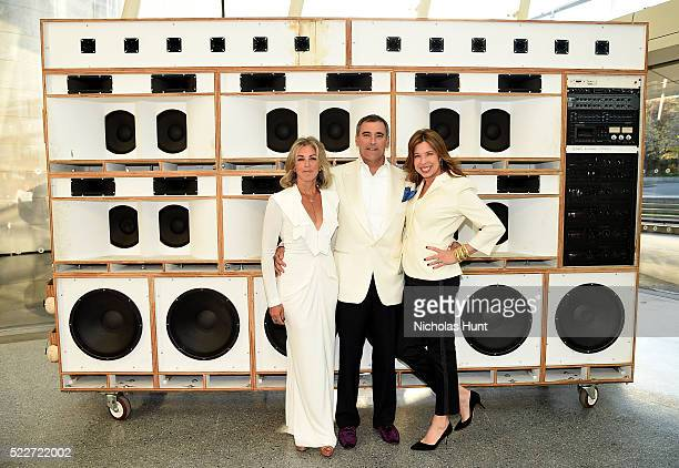 Stephanie Ingrassia Tim Ingrassia and Anne Pasternak attend The 2016 Brooklyn Museum Artists Ball Honoring Stephanie and Tim Ingrassia on April 20...