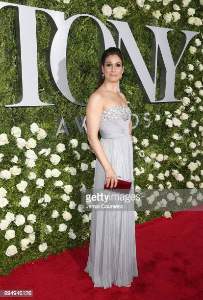 Stephanie J Block attends the 2017 Tony Awards at Radio City Music Hall on June 11 2017 in New York City