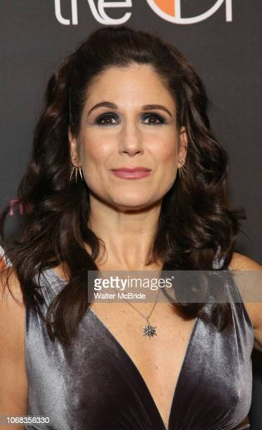 Stephanie J Block attends the After Party for the Broadway Opening Night of 'The Cher Show' at Pier 60 on December 3 2018 in New York City