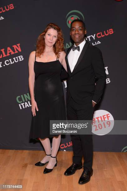 Stephanie Jones and Jaze Bordeaux attend the Italian Party Club at TIFF 2019 at Artscape Daniels on September 10 2019 in Toronto Canada