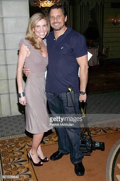 Stephanie Jones and Kevin Mazur attend ALBERT EINSTEIN COLLEGE OF MEDICINE Spirit of Achievement Luncheon at The Pierre Hotel on May 5 2008 in New...
