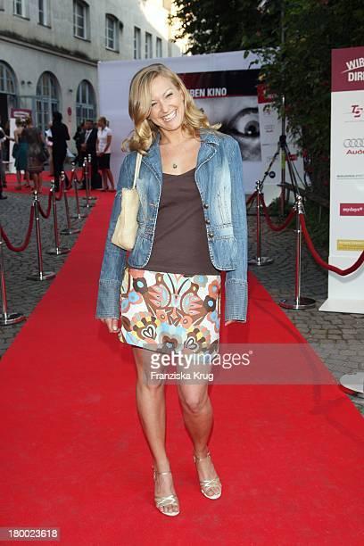 """Stephanie Kellner Bei """"Wir Lieben Kino - Director'S Cut"""" Party Auf Der Praterinsel In München Am 210608 ."""