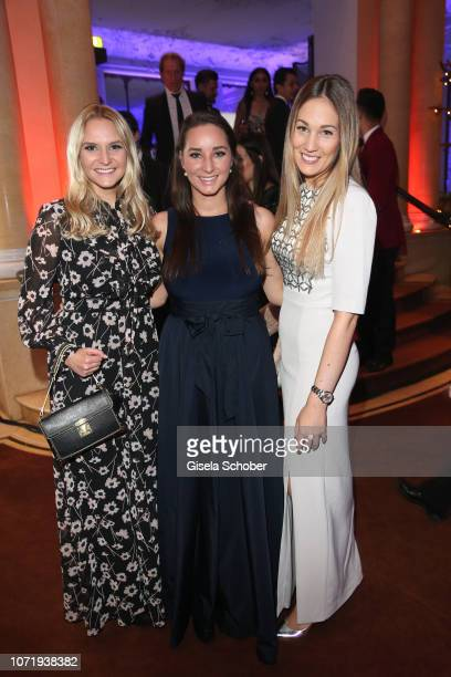 Stephanie Kinshofer Alexandra Kinshofer daughters of Christa Kinshofer and Julia Oswald during the Audi Generation Award 2018 at Hotel Bayerischer...