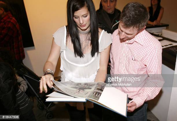 Stephanie Kraeutler and Jeffrey Schajer attend ERWIN OLAF Opening Reception at Hasted Hunt Kraeutler on January 28 2010 in New York