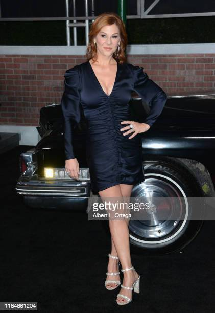Stephanie Kurtzuba arrives for the Premiere Of Netflix's The Irishman held at TCL Chinese Theatre on October 24 2019 in Hollywood California