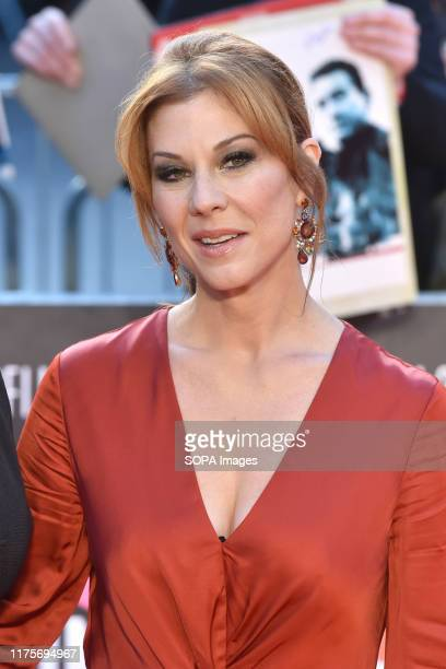 Stephanie Kurtzuba attends the Closing Night Gala The Irishman International Premiere during the 63rd BFI London Film Festival at the Odeon Luxe in...