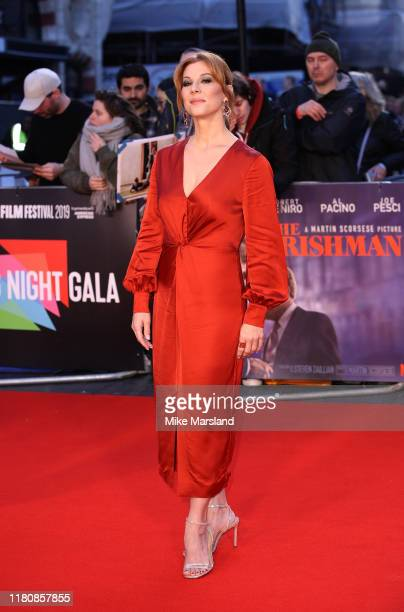 Stephanie Kurtzuba attends The Irishman International Premiere and Closing Gala during the 63rd BFI London Film Festival at the Odeon Luxe Leicester...