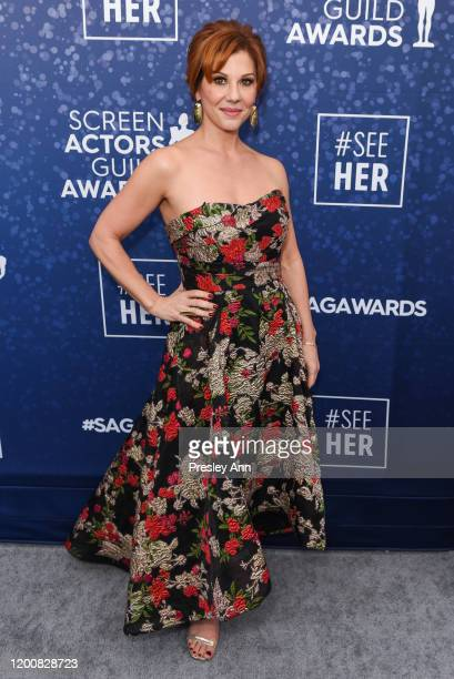 Stephanie Kurtzuba attends the SeeHer platform at the 26th annual Screen Actors Guild Awards @seeHER2020 at The Shrine Auditorium on January 19 2020...