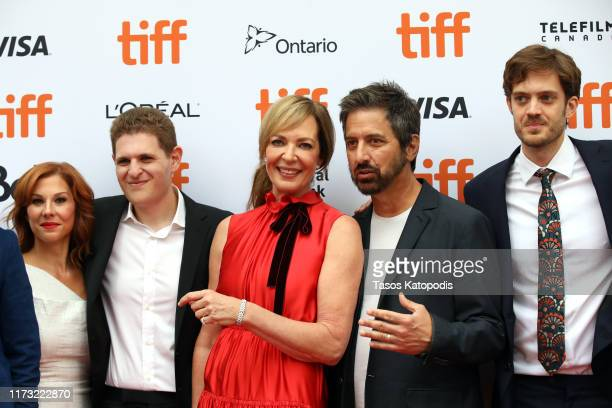 Stephanie Kurtzuba Mike Makowsky Allison Janney Ray Romano and Cory Finley attend the Bad Education premiere during the 2019 Toronto International...