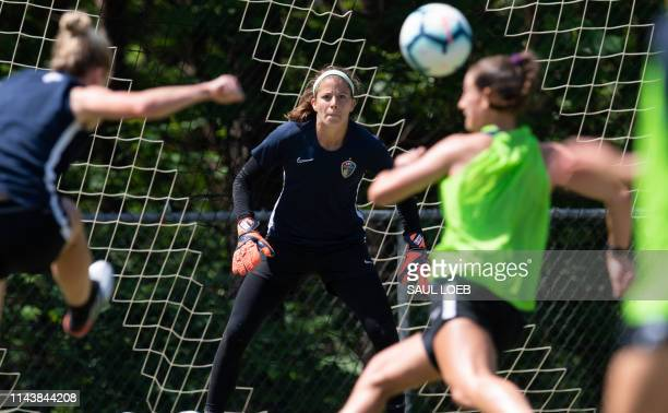 TOPSHOT Stephanie Labbe a soccer goalkeeper for the Canadian women's national soccer team that will participate in the upcoming Women's World Cup and...
