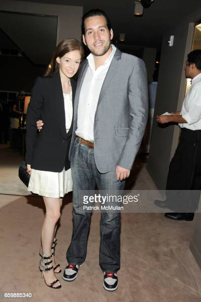Stephanie LaCava and Brian Weiss attend JOSEPH ALTUZARRA Private Cocktail Party at THE WEBSTER at The Webster on December 5, 2009 in Miami Beach,...