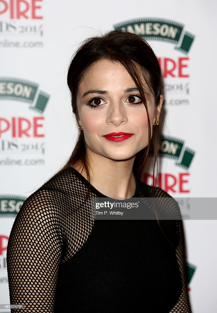 Stephanie Leonidas attends the Jameson Empire Awards 2014 at the Grosvenor House Hotel on March 30, 2014 in London, England. Regarded as a relaxed end to the awards show season, the Jameson Empire Awards celebrate the film industry's success stories of the year with winners being voted for entirely by members of the public. Visit empireonline.com/awards2014 for more information.