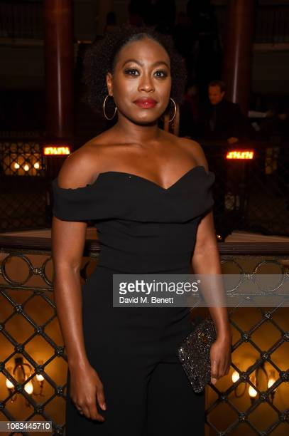 Stephanie LeviJohn attends The 64th Evening Standard Theatre Awards at the Theatre Royal Drury Lane on November 18 2018 in London England