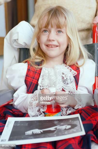 Stephanie Lush who had both of her legs amputated due to meningitis 26th February 1996