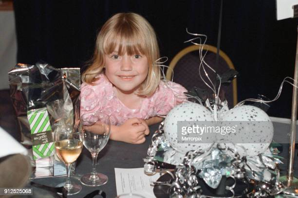 Stephanie Lush who had both of her legs amputated due to meningitis Pictured at her birthday party 29th June 1997