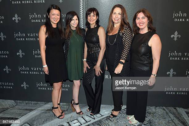 Stephanie Ma Stephanie Zucker Karen Ingram Gina Skolkin and Tamara Steele attend the John Varvatos Spring/Summer 2017 Fashion Show after party...