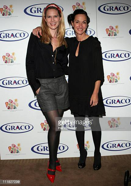 Stephanie March and Cynthia Rowley during Graco Children's Products and Cynthia Rowley Launch New Stroller Partnership with Elizabeth Glaser...
