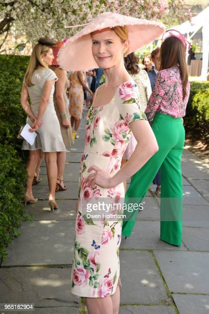 Stephanie March attends 36th Annual Frederick Law Olmsted Awards Luncheon Central Park Conservancy at The Conservatory Garden in Central Park on May...