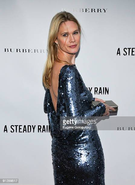 Stephanie March attends 'A Steady Rain' Broadway opening night at the Gerald Schoenfeld Theatre on September 29 2009 in New York City