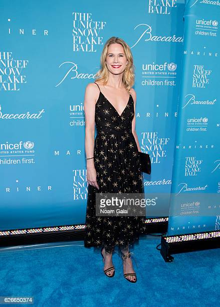 Stephanie March attends the 12th Annual UNICEF Snowflake Ball at Cipriani Wall Street on November 29 2016 in New York City
