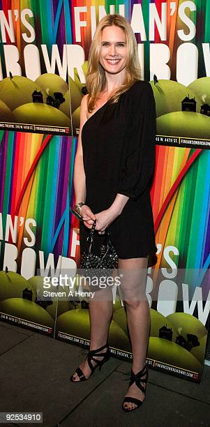 Stephanie March attends the 'Finian's Rainbow' Broadway opening night after party at the Bryant Park Grill on October 29 2009 in New York City