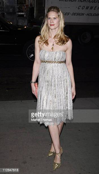 Stephanie March during 'Blood Diamond' New York Screening Outside Arrivals at MoMa in New York City New York United States