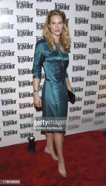 Stephanie March during Conde Nast Traveler 18th Annual Readers' Choice Awards Arrivals at The Metropolitan Museum of Art in New York City New York...