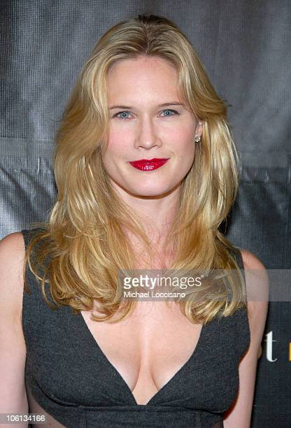 Stephanie March during Donna Karan 'Gold' Fragrance Collection Launch at Donna Karan Flagship on Madison in New York City New York United States