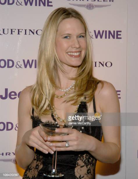 Stephanie March during Food Wine Magazine Names America's Best New Chefs of 2005 at Skylight Studios in New York City New York United States