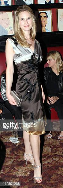 Stephanie March during 'Glengarry Glen Ross' Broadway Opening Night Curtain Call and After Party at The Royale Theater and Sardi's in New York City...