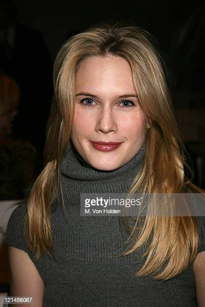 Stephanie March during Olympus Fashion Week Fall 2006 Pamella Roland Runway at Atelier at Bryant Park in Manhattan United States