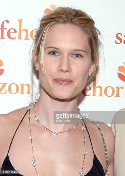 Stephanie March during Safe Horizon's Champion Award Kickoff Party at Calvin Klein Collection Store in New York City New York United States